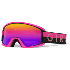 Giro Dylan Gogle Kobiety, black/pink throwback/rose spectrum/yellow